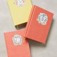 Monogram Crest Journal by Happy Menocal Assorted