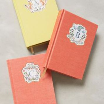 Happy Menocal Monogram Crest Journal in Assorted Size: