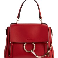 Chloé Small Faye Day Leather Shoulder Bag   Nordstrom