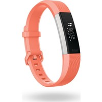New Fitbit Alta HR Heart Rate + Fitness Wireless Coral Small