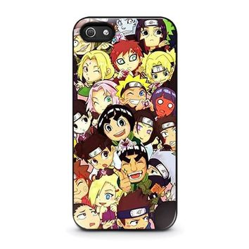 NARUTO ALL CHARACTERS iPhone 5 / 5S / SE Case Cover