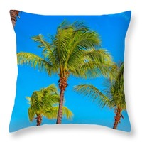 """Paradise Found Throw Pillow for Sale by John Bailey - 14"""" x 14"""""""