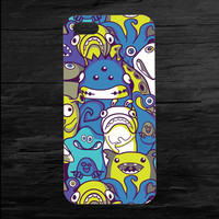 Aliens and Monsters iPhone 4 and 5 Case