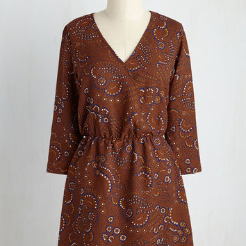 Takeout Your Pick Floral Dress | Mod Retro Vintage Dresses | ModCloth.com