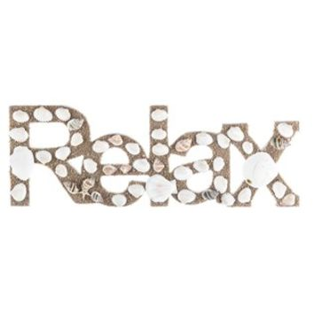 Relax Word with Shells & Sand | Shop Hobby Lobby