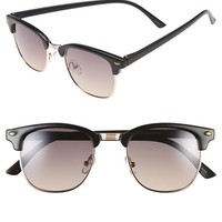 Men's Icon Eyewear 50mm Retro Sunglasses - Black Gold/ Smoke
