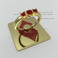 Lazy ring buckle mobile phone holder+Nice gift box !