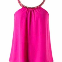 Studded Pink Top