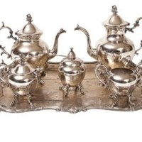 One Kings Lane - Elisabeth Weinstock - Tea & Coffee Service, Set of 6