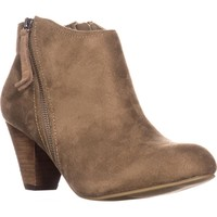 XOXO Amberly Ankle Booties, Taupe, 11 US / 43 EU