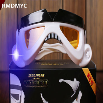 RMDMYC Star Wars Storm Troops 1:1 Glasses Action & Toy Figures Cosplay Props Glow Storm Troops Glasses Toys Kid brithdays Gift