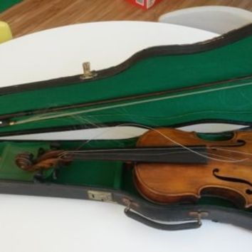 Antique Violin Germany DRGM 728940 with Case