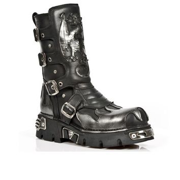 New Rock Shoes - Dragon Flame 600 :: VampireFreaks Store :: Gothic Clothing, Cyber-goth, punk, metal, alternative, rave, freak fashions