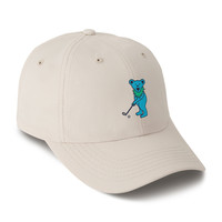The Putting Bear Performance Hat in Putty by Imperial Sports
