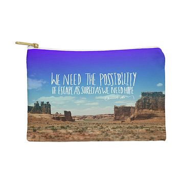 Leah Flores Edward Abbey X Escape Pouch