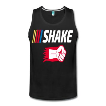 Shake and Bake Couples Men's Premium Tank,Shake
