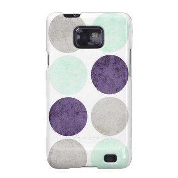 Circles 2 samsung galaxy SII covers from Zazzle.com