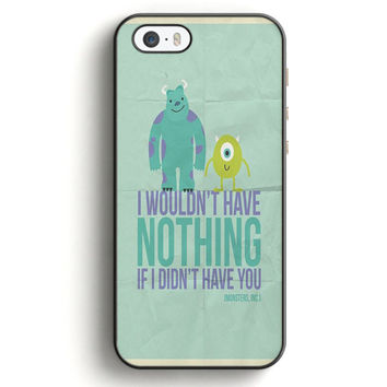 Monsters Inc Quotes iPhone 5|5S Case | Aneend