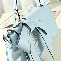 Fashion Elegant Sweet Bowknot Handbag
