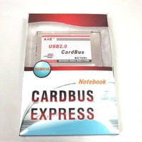 GMYLE (TM) 2-Port USB 2.0 PCMCIA Cardbus PC Card (fully inside for Notebook)
