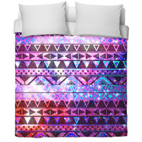 galaxy aztec bed cover