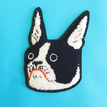 Chenille Dog Patch