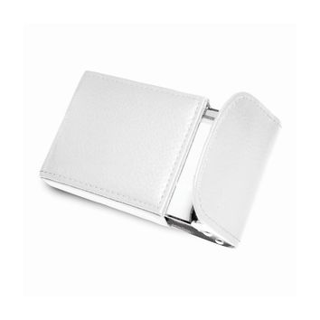 Cameron Leather Business Card Case Available in Yellow/Pink/Green - Perfect Gift
