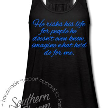 He Risks His Life - LEO - Southern Charm Designs