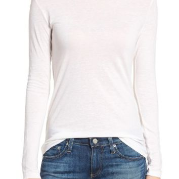 AG The Logan Cotton & Cashmere Tee | Nordstrom