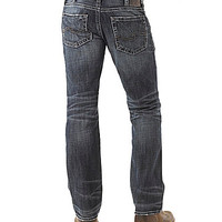Silver Jeans Co. Nash Classic-Fit Straight-Leg Jeans - Indigo