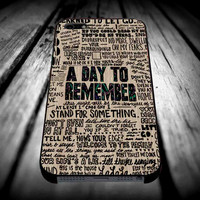 A Day to remember Have Faith In Me 4 for iPhone 4/4s/5/5s/5c/6/6 Plus Case, Samsung Galaxy S3/S4/S5/Note 3/4 Case, iPod 4/5 Case, HtC One M7 M8 and Nexus Case ***