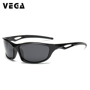 VEGA Eyewear Sports Sunglasses for Police Men Polarized Fishing Sunglasses Women Driving Glasses at Night Outdoor Sunglasses 202