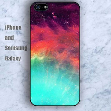 glitter Flaky clouds colorful iPhone 5/5S case Ipod Silicone plastic Phone cover Waterproof