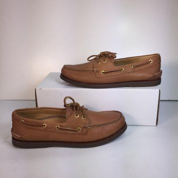 Sperry Top-Sider Men's Gold Cup A/O 2 Eye Boat Shoe (NWOB)