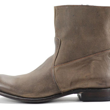 JD FISK for Men: Dale Brown Leather Boots