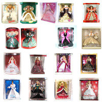 Holiday Barbie Special Edition Dolls - Lot of 17