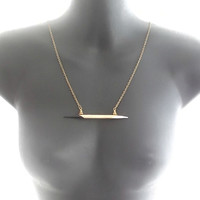 Porcupine Quill Necklace African Porcupine Quill Necklace Brass Necklace