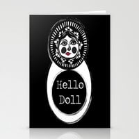 Hello Matryoshka Stationery Cards by Glowbug28c | Society6