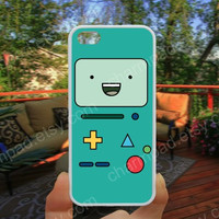 Blue Adventure time bmo  phone case 4/4s case iphone 5/5s/5c case samsung galaxy s3/s4 case galaxy S5 case Waterproof gift case 496