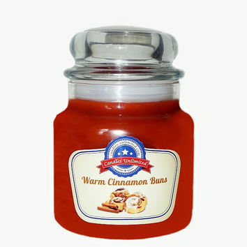 Warm Cinnamon Buns - Soy Blend Container Scented Candles