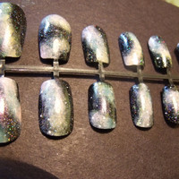 Galaxy Night Sky Nail Set
