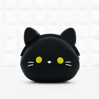 Pochi Black Cat Purse - Urban Outfitters