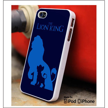 The Lion King Blue iPhone 4s iPhone 5 iPhone 5s iPhone 6 case, Galaxy S3 Galaxy S4 Galaxy S5 Note 3 Note 4 case, iPod 4 5 Case