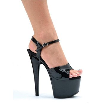 Ellie Shoes E-709-Juliet 7 Pointed Stiletto Sandal