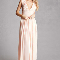 Soieblu Plunging Maxi Dress