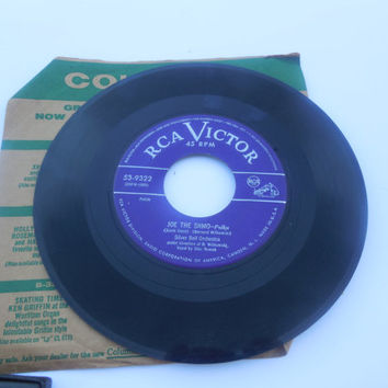 Vintage Rare Vinyl  45 RPM - Silver Bell Orchestra - Accordion Charlie - Joe the Shmo