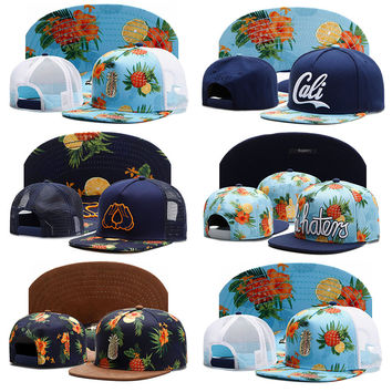 Cayler & Sons Snapback Caps Colorful Pineapple 3D Printed Baseball Cap Gorras Planas Hip Hop Trucker Hats For Men 369