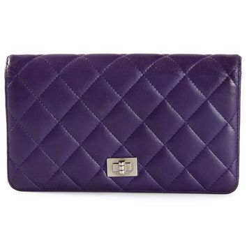 Chanel Vintage quilted reissue wallet
