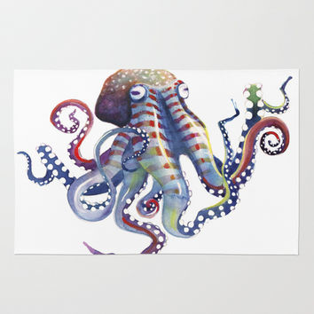 Octopus Rug by Sam Nagel