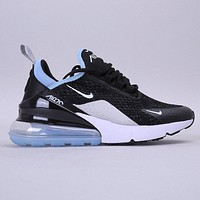 NIKE Max 270 New Fashion Hook Running Sports Leisure Women Men Shoes